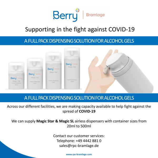 Supporting in the fight against COVID-19