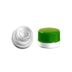 Oscar Push On Pull Ring Tamper Evident 2-pc.