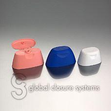 Snap Hinge Push On  Closure 16.7 diameter